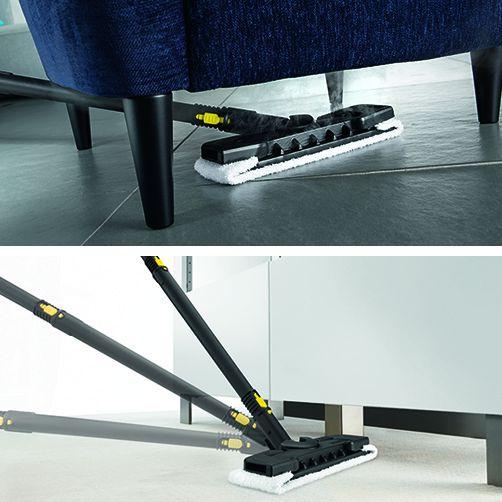 Kit Comfort pentru podea, cu racord flexibil pe duza