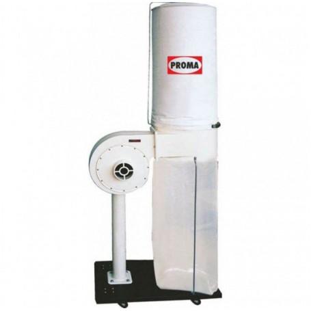 Aspirator pentru lemn Proma OP-750, 1020 m3/ora,  70 l