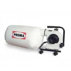 Aspirator portabil pentru lemn Proma OPM-150,  914 m3/ora, 45 l